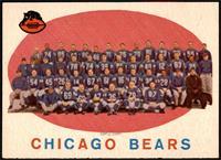 Chicago Bears Team Check List [EXMT+]