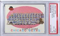 Chicago Bears Team Check List [PSA6EX‑MT]