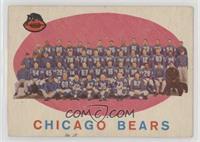 Chicago Bears Team Check List [NoneGoodtoVG‑EX]