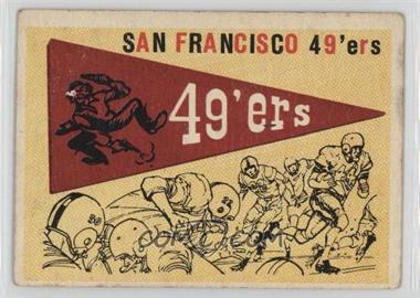 1959 Topps - [Base] #111 - San Francisco 49ers Team [Poor to Fair]
