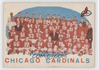 Checklist (Chicago Cardinals Team)