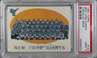 New York Giants Team [PSA 9]