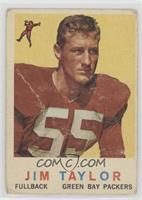 Jim Taylor (Photo of Cardinals' Jim Taylor) [Poor]