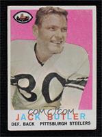 Jack Butler [NonePoortoFair]
