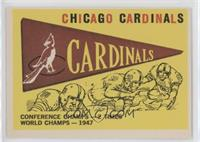Chicago Cardinals Team