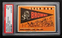 Cleveland Browns Team [PSA 7.5]