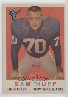 1959 Topps - [Base] #51 - Sam Huff