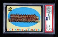 Los Angeles Rams Team Check List [PSA6EX‑MT]