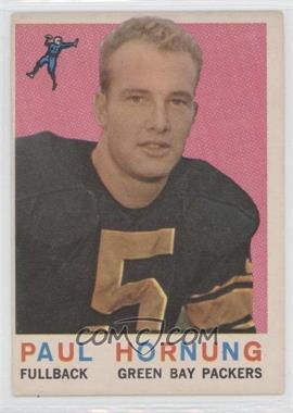 1959 Topps - [Base] #82 - Paul Hornung