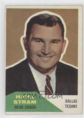 1960 Fleer - [Base] #116 - Hank Stram [Good to VG‑EX]