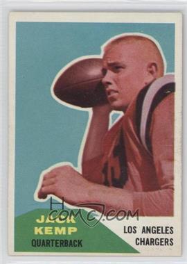 1960 Fleer - [Base] #124 - Jack Kemp