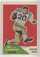 Billy Cannon [Poor to Fair]