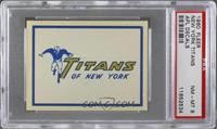 New York Titans Team [PSA 8]