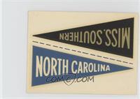 North Carolina/Miss. Southern [GoodtoVG‑EX]