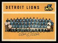 Detroit Lions Team [NMMT]