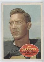 Lew Carpenter
