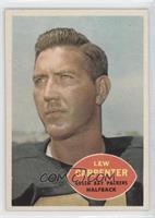 Lew Carpenter [GoodtoVG‑EX]