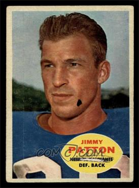 1960 Topps - [Base] #79 - Jimmy Patton [POOR]