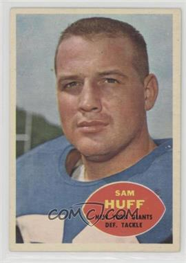 1960 Topps - [Base] #80 - Sam Huff
