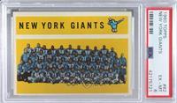 New York Giants Team, Checklist [PSA6EX‑MT]