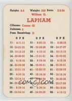 Bill Lapham