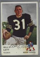 Billy Lott [Poor]