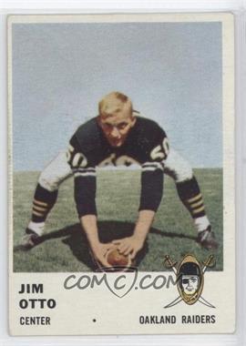 1961 Fleer - [Base] #197 - Jim Otto