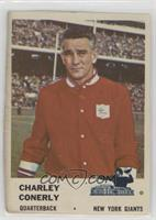 Charlie Conerly [Altered]