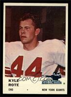 Kyle Rote [NM]