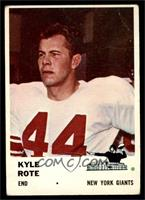 Kyle Rote [VG]