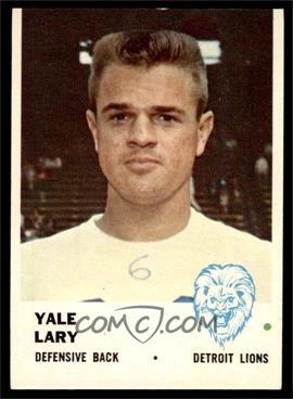 1961 Fleer - [Base] #85 - Yale Lary [VG]