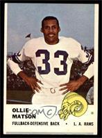 Ollie Matson [GOOD]