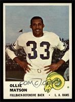 Ollie Matson [NM]