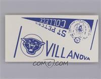 Villanova/St. Peter's [Excellent‑Mint]