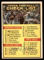 Checklist [POOR]