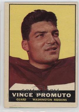 1961 Topps - [Base] #128 - Vince Promuto [GoodtoVG‑EX]
