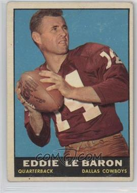 1961 Topps - [Base] #20 - Eddie LeBaron [Good to VG‑EX]