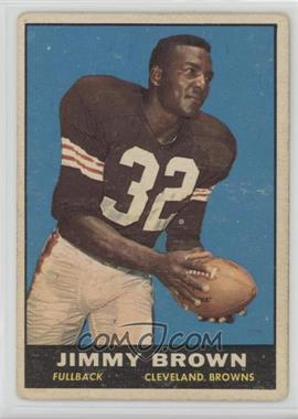 1961 Topps - [Base] #71 - Jim Brown [Good to VG‑EX]