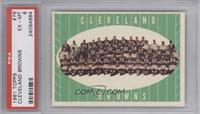 Cleveland Browns Team [PSA6EX‑MT]