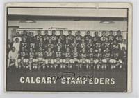 Calgary Stampeders (CFL) Team [Poor]