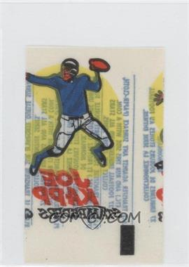 1961 Topps CFL - Rub-Offs #N/A - Joe Kapp