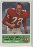 Paul Rochester