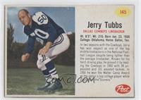Jerry Tubbs [Authentic]