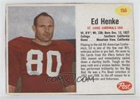 Ed Henke [Good to VG‑EX]