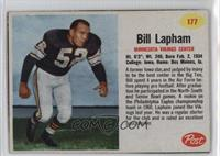 Bill Lapham [Good to VG‑EX]