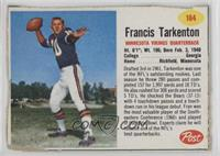 Francis Tarkenton [Poor]