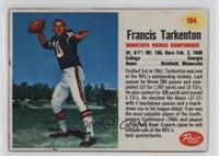 Francis Tarkenton [GoodtoVG‑EX]