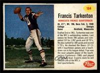 Francis Tarkenton [EX]