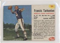 Francis Tarkenton [NonePoortoFair]