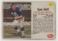 Sam Huff [Poor to Fair]